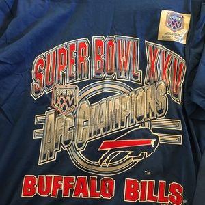 Jerzees Shirts - 1991 Super Bowl XXV AFC   NFC Bills v Giants Set 0d12a8674